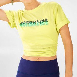 FABLETICS Parker Boxy Statement Tee
